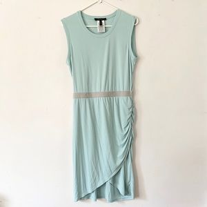 BCBG Aquamarine Wrap Dress